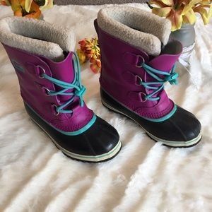Sorel Waterproof Fleece Lined Boots Sz 5